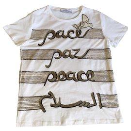 Valentino-T shirt-White