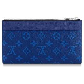 Louis Vuitton-Louis Vuitton Discovery pochette-Bleu