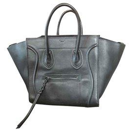 Céline-Canon sac Céline Luggage Phantom-Noir
