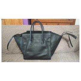 Céline-Canon bag Céline Luggage Phantom-Black