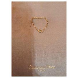 Dior-Superbe bague Dior mimi oui-Doré