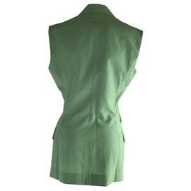 Jean Paul Gaultier-Jean Paul Gaultier Vest Jacket-Vert