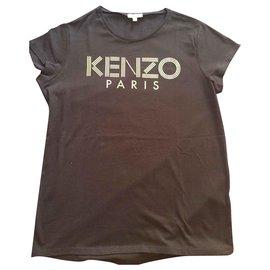 Kenzo-Kenzo Tshirt-Bleu Marine