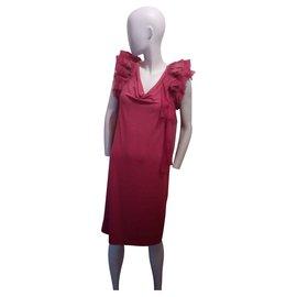 Givenchy-Beautiful raspberry dress-Fuschia