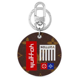 Louis Vuitton-Louis Vuitton Illustre bag charm-Brown