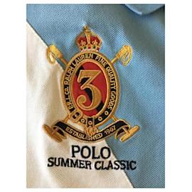 Polo Ralph Lauren-chemises-Bleu