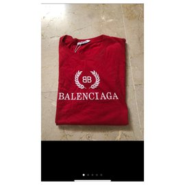 Balenciaga-Tops-Red