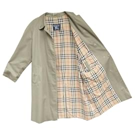 Burberry-Waterproof Burberry vintage size 42-Khaki