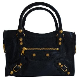 Balenciaga-Sac mini city-Black
