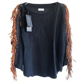 Zadig & Voltaire-Knitwear-Navy blue