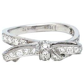 """Dior-Bague Dior ,""""Petit Tralala"""", or blanc et diamants.-Autre"""