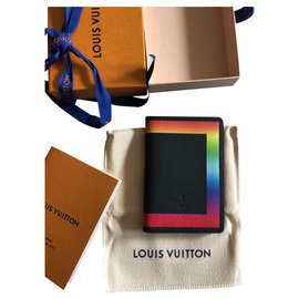 Louis Vuitton-Organizador de bolso Louis Vuitton-Preto