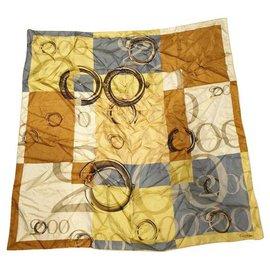 Cartier-Silk square scarf-Multiple colors