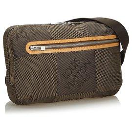 Louis Vuitton-Louis Vuitton Brown Damier Geant Archer-Marron