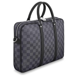 Louis Vuitton-Louis Vuitton business bag new-Grey