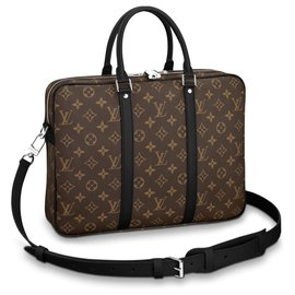 Louis Vuitton-Louis Vuitton business bag new-Brown