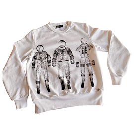 Chanel-Cosmonaut Astronaut Sweat CHANEL White-White