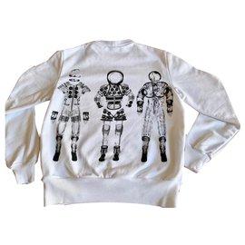 Chanel-Cosmonaute Astronaute Sweat CHANEL Blanc-Blanc