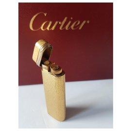 Cartier-TRINITY  ANNEAUX  3 ORS-Doré