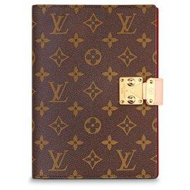 Louis Vuitton-Louis Vuitton notebook novo-Marrom