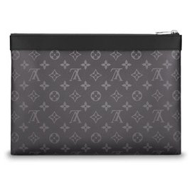 Louis Vuitton-Louis Vuitton clutch new-Grey