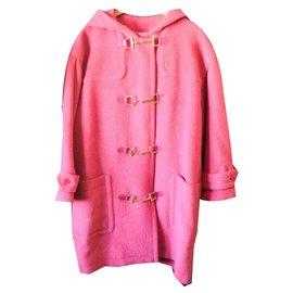 Céline-Sublime dufflecoat coat Céline-Pink,Golden