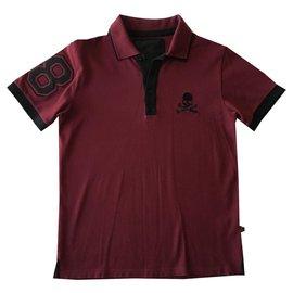Philipp Plein-Philipp Plein Herren Polo T-Shirt-Andere