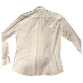 Dsquared2-chemises-Blanc