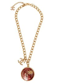 Chanel-NECKLACE PE WORLD COLLECTION2004-Golden