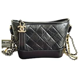 Chanel-Chanel Small Gabrielle Hobo Bag-Black