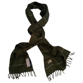 Burberry-Scarves-Khaki