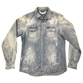 Diesel-chemises-Bleu