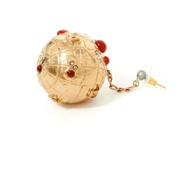 Chanel-EARRINGS PE WORLD COLLECTION 2004-Golden