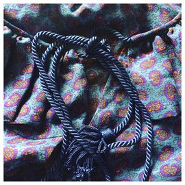 Yves Saint Laurent-Silk blouse Yves Saint Laurent-Purple