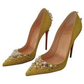 revendeur 67ab0 26398 Chaussures luxe Christian Louboutin occasion - Joli Closet