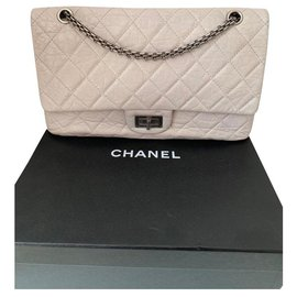 Chanel-Reissue 2.55-Grey