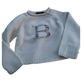 Burberry-Burberry sweater-Eggshell