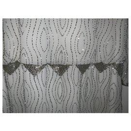 Rene Derhy-Girl's dress-Silvery,Grey