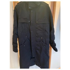 Just Cavalli-Coat and raincoat man-Black