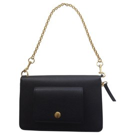 Mulberry-ZIP AROUND LEATHER CLUTCH BAG-Black
