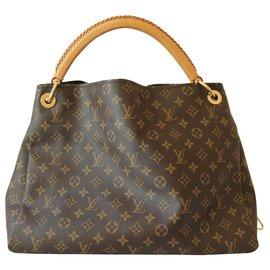 Louis Vuitton-Sac Louis Vuitton Artsy MM-Marron