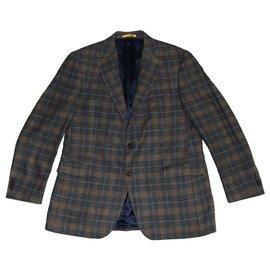 Ermenegildo Zegna-Vestes Blazers-Multicolore