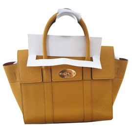 Mulberry-Mulberry Mini Zipped Bayswater Deep Amber Small Classic-Mustard