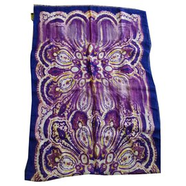 Etro-Etro scarf-Purple