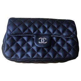 Chanel-CHANEL BELT BAG UNIFORM-Black