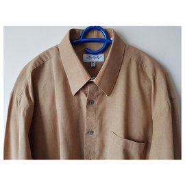 Yves Saint Laurent-chemises-Marron,Multicolore