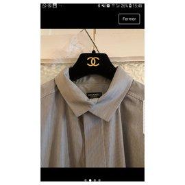 Chanel-chemises-Multicolore