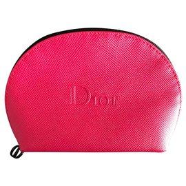 Dior-Trousse pochette-Fuschia