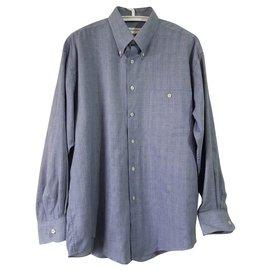 Yves Saint Laurent-chemises-Bleu