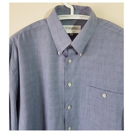 Yves Saint Laurent-Shirts-Blue